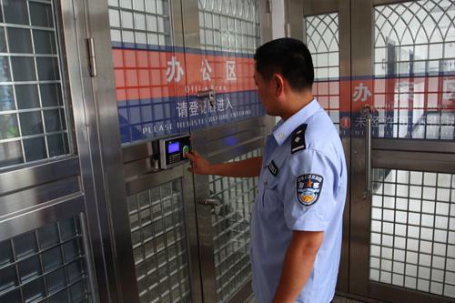 聊城市东昌府区公安局三中队K-PASS门禁控制系统于近日完成验收
